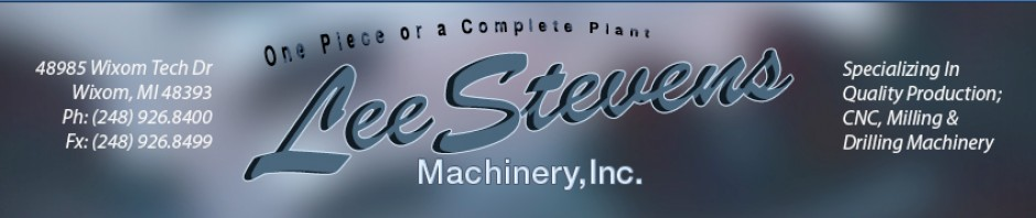 CNC Machining Centers and Used  Machine Tools and Lathes